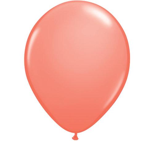 Koraal Roze Ballonnen 28cm - 100 stuks