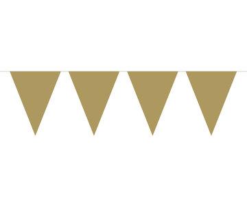 Vlaggenlijn Goud - 10 meter
