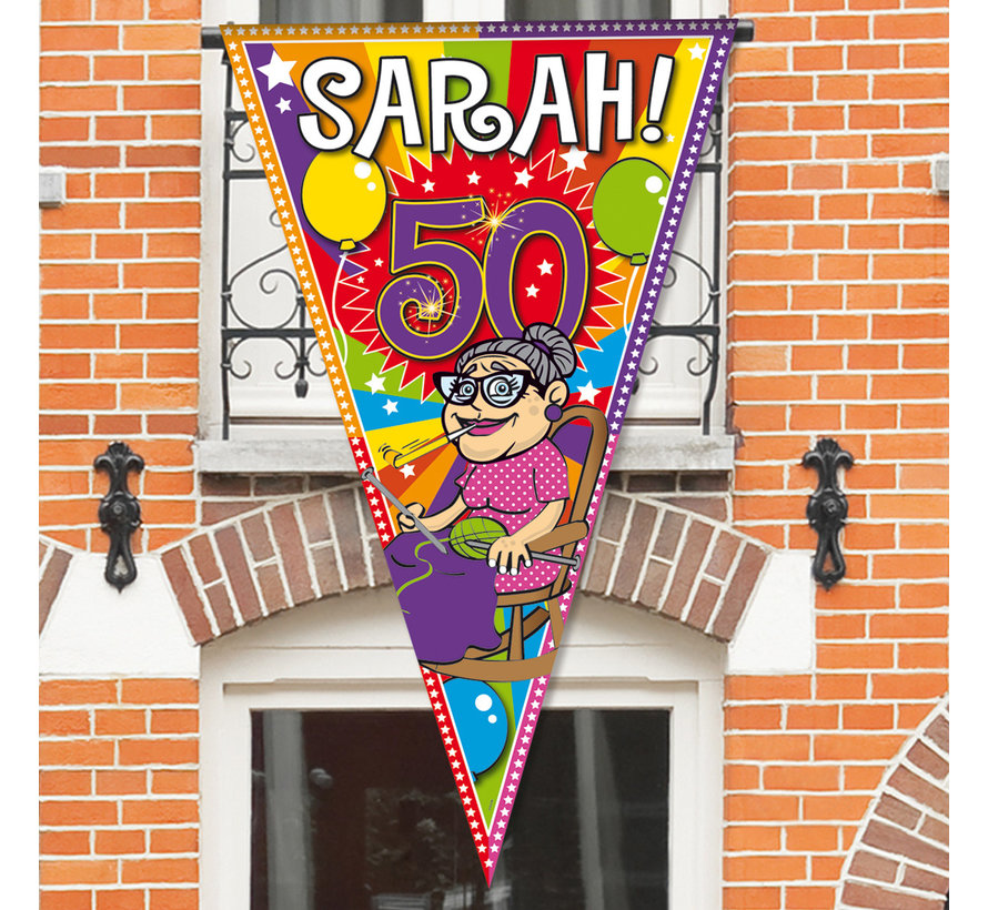 Sarah Vlag XL - per stuk