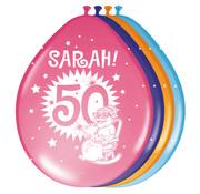 Sarah Ballonnen 30cm - 8 stuks