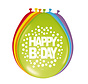 Happy Bday Ballonnen 30cm - 8 stuks