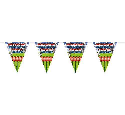 Welkom Thuis Vlaggenlijn - 6 meter