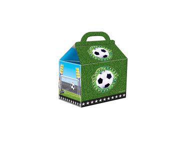 Voetbal Uitdeeldoosjes - 4 stuks
