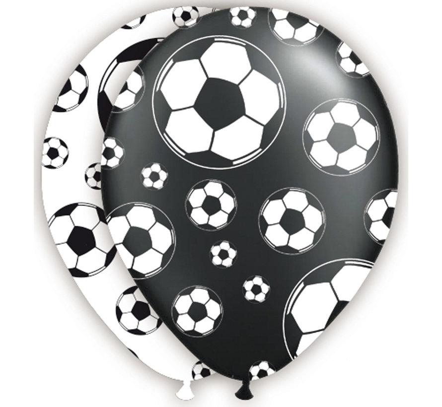 Voetbal Ballonnen 30cm - 8 stuks