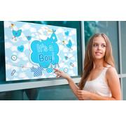 Raamvlag Geboorte Jongen - per stuk
