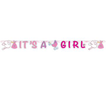 Letterslinger It's A Girl - per stuk