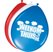 Ballonnen Welkom Thuis 30cm - 8 stuks