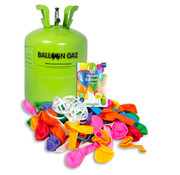 Helium Tank + 50 Ballonnen - 0,42m3