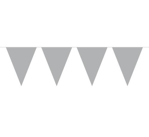 Vlaggenlijn Zilver - 10 meter