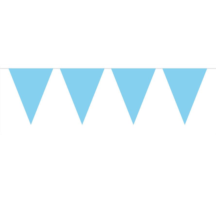 Vlaggenlijn Baby Blauw - 10 meter