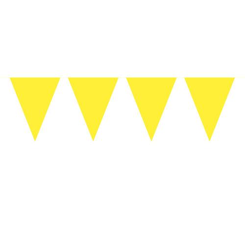 Vlaggenlijn Geel - 10 meter