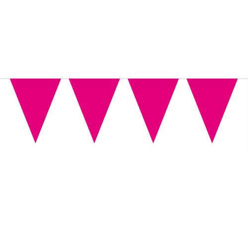 Vlaggenlijn Magenta Paars - 10 meter