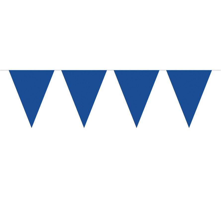 Vlaggenlijn Blauw - 10 meter