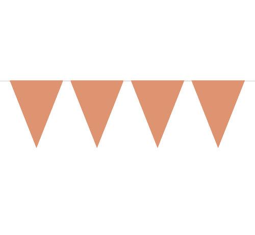 Vlaggenlijn Rosé Goud - 10 meter