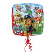 Paw Patrol vierkant folieballon - 46cm