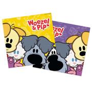 Woezel en Pip Servetten - 20 stuks