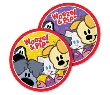 Woezel en Pip Bordjes - 8 stuks