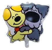 Woezel en Pip Folieballon 28x26 cm - per stuk