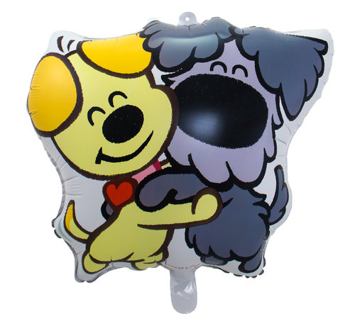 Woezel en Pip Folieballon 55x57 cm - per stuk