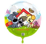 Woezel en Pip Folieballon 45cm - per stuk
