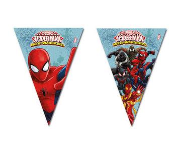 Spiderman Warriors Vlaggenlijn - 3 meter
