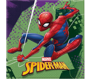 Spiderman Team Servetten - 20 stuks