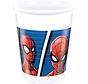 Spiderman Team Bekers - 8 stuks