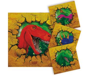 Dinosaurus Servetten - 16 stuks