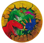 Dinosaurus Bordjes - 6 stuks