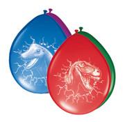 Dinosaurus Ballonnen - 6 stuks