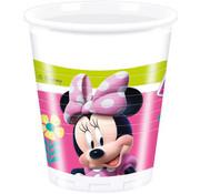 Minnie Mouse Happy Bekertjes - 8 stuks