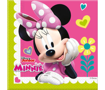 Minnie Mouse Happy Servetten - 20 stuks