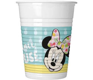 Minnie Mouse Tropical Bekertjes - 8 stuks