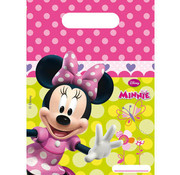 Minnie Mouse Party Uitdeelzakjes - 6 stuks