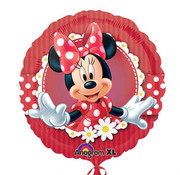 Minnie Mouse Folieballon Rood - per stuk