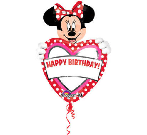 Minnie Mouse Beschrijfbare Ballon 45cm - per stuk