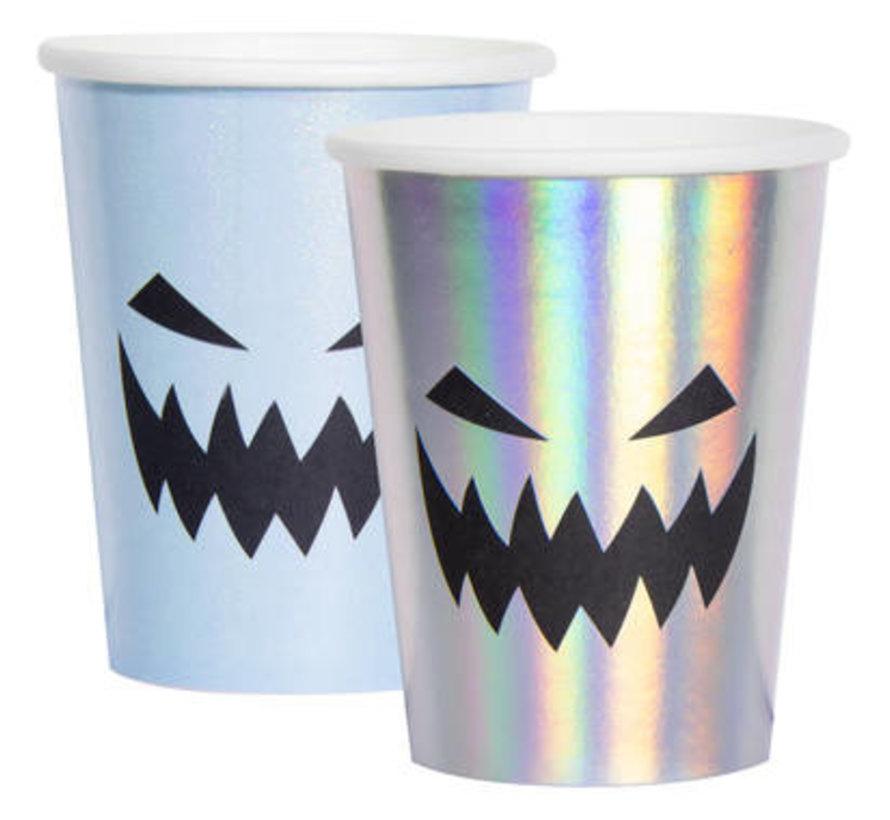 Halloween Bekertjes Creep Pastel - 6 stuks