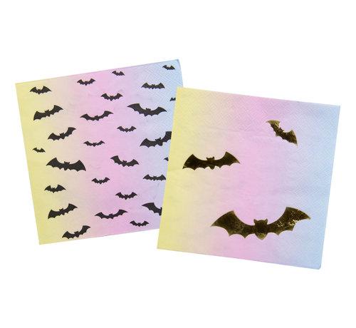 Halloween Servetten Creep Pastel - 16 stuks