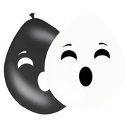 Halloween Ballonnen Spoken - 8 stuks