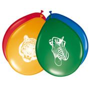 Safari  Ballonnen 30cm - 8 stuks