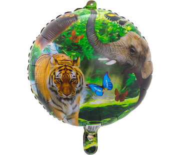 Safari  Folie ballon 43cm - per stuk