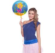 Zeemeermin  Folieballon 45 cm - per stuk