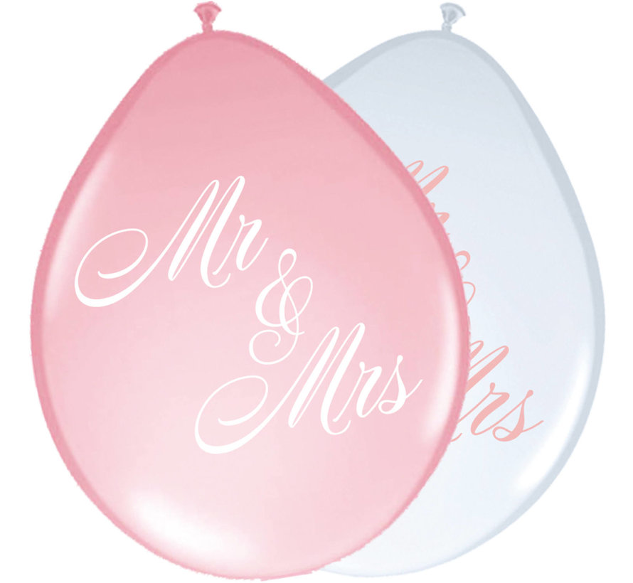 Bruiloft Ballonnen Rozen 30cm - 8 stuks