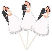 Bruiloft Prikkers Retro - 10 stuks