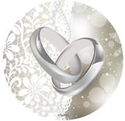 Bruiloft Onderzetters - 24 stuks