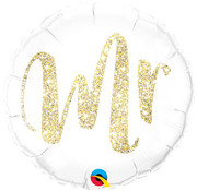 Bruiloft Folieballon Mr - per stuk