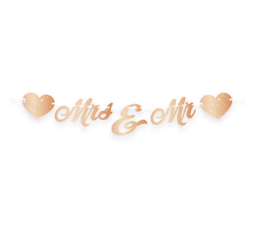 Bruiloft Letterslinger Just Married - per stuk