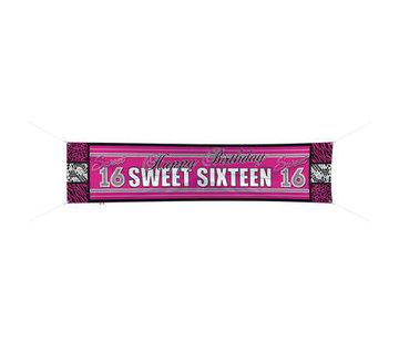 Sweet 16 Spandoek 180x40 cm - per stuk