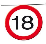 18 Jaar Verkeersbord Slinger -12 meter