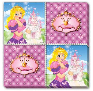 Prinsessen  Servetten - 16 stuks